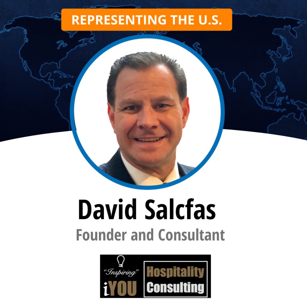 David Salcfas from iYou Hospitality Consulting
