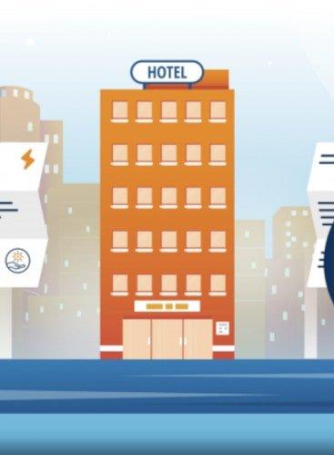 Calculating A Hotel's Energy Savings